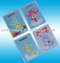 Memory game card for children