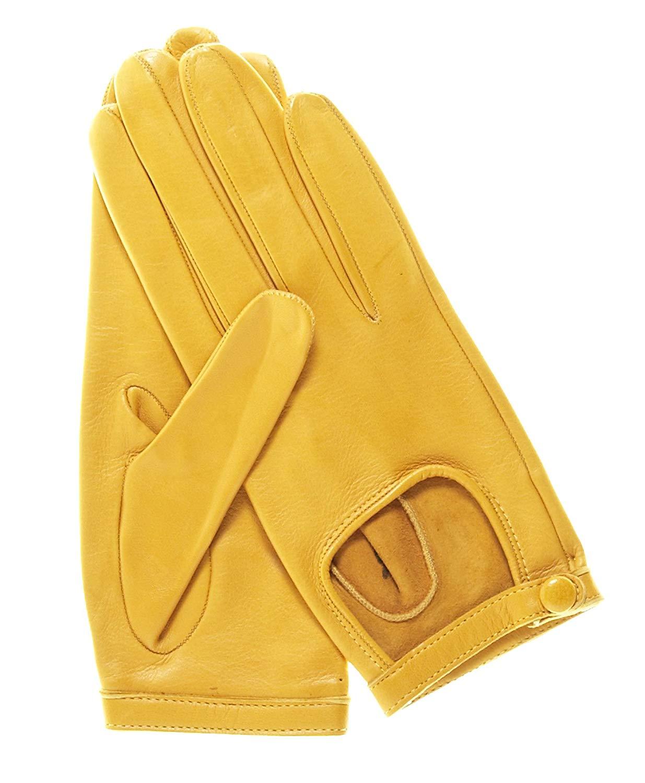e30cad5864038 Get Quotations · Fratelli Orsini Women's Classico Italian Lambskin Driving  Gloves
