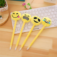 2018 new design whatsapp charm toys stuffed creative emoji plush pen