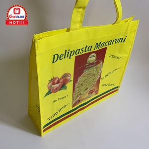 Custom Promotional Brand Logo Laminated PP Non Woven Shopping Bag