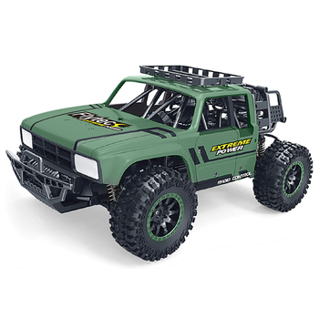 Flytec SL-151A 2.4G 1/14  Off-Road Vehicle Speed Racing Climbing RC Car Toy Green