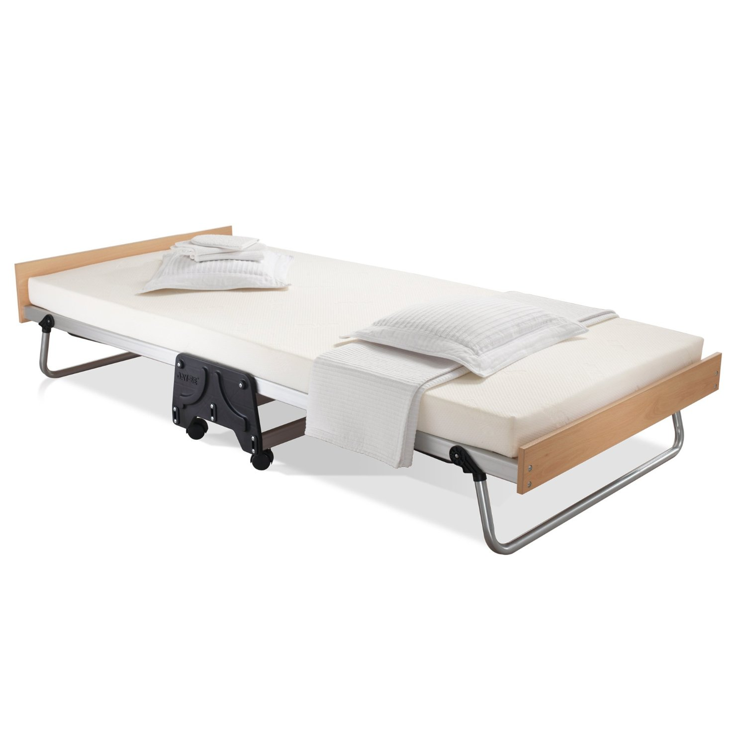 a450d589f10 JAY-BE J-Bed Folding Bed with Aluminum Frame and Memory Foam Mattress