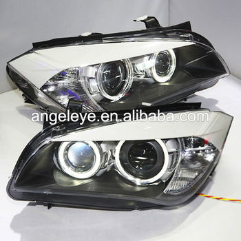 For Bmw X1 E84 Led Head Light Angel Eyes For Original Car Without ...