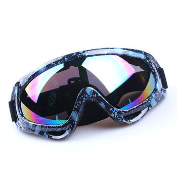 Low price manufacturers motorcycle glasses, Adjustable strap motor sunglasses meet to CE FDA
