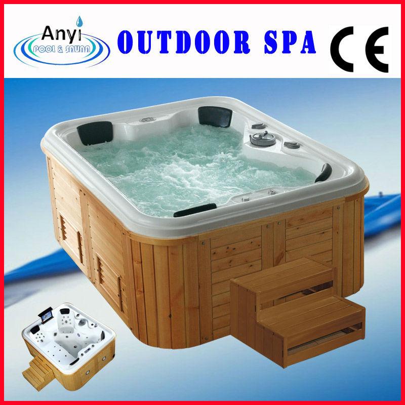 vendita calda interno freestanding rettangolare massaggio termale, Disegni interni
