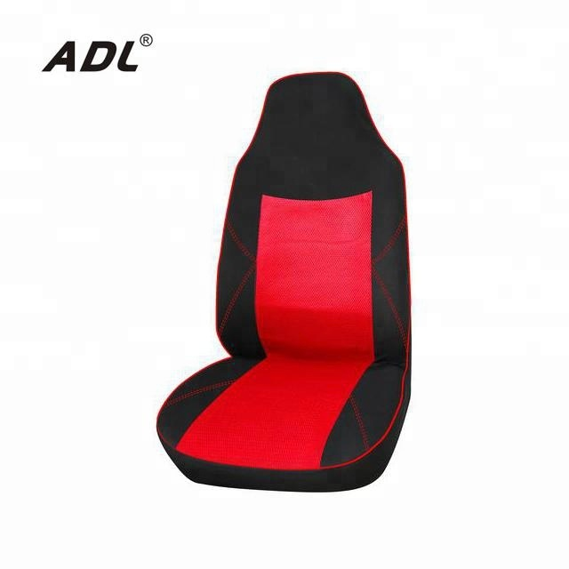 1 x High Back Bucket Seat Cover 9 Pieces Set Auto interior accessories car seat cover red