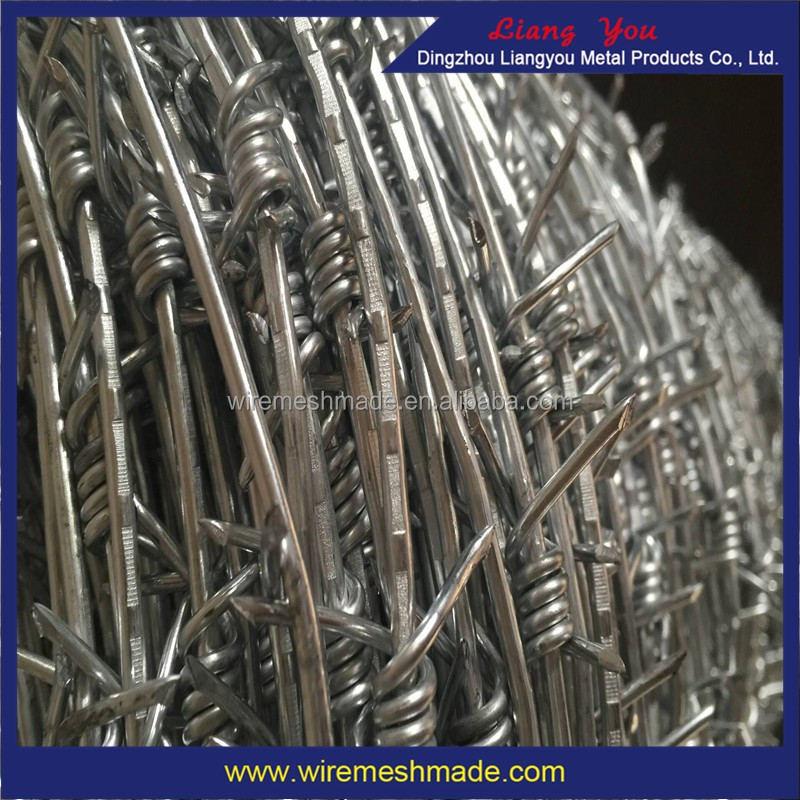 4 Point Galvanised Barbed Wire