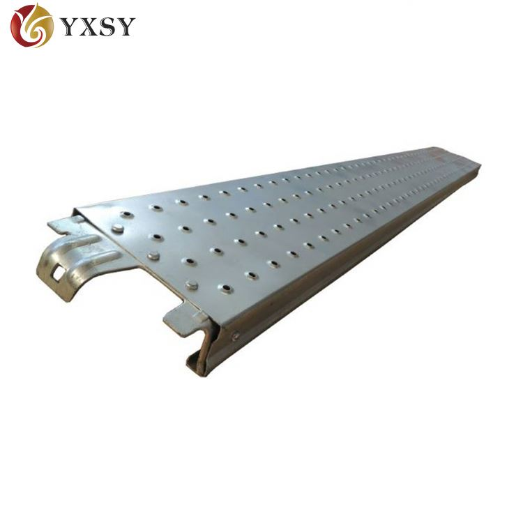 different color plank for steel scaffolding