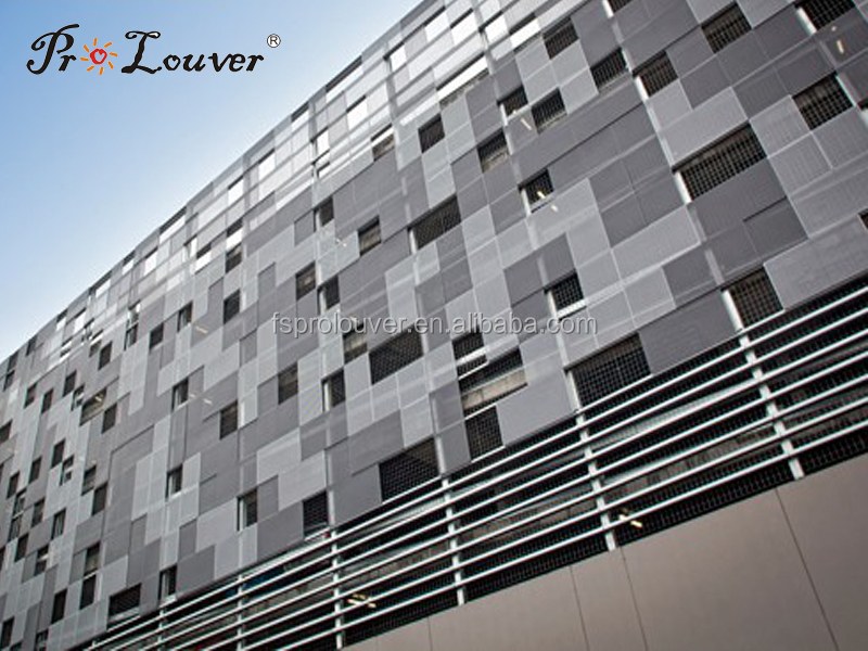 Aluminum Perforated Decorative Facades Panel Perforated