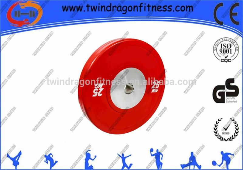 high quality cast iron olympic rubber bumper weight plate for sale