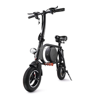 Electric Two Wheeler Adult Kick Scooter Foldable Lightweight