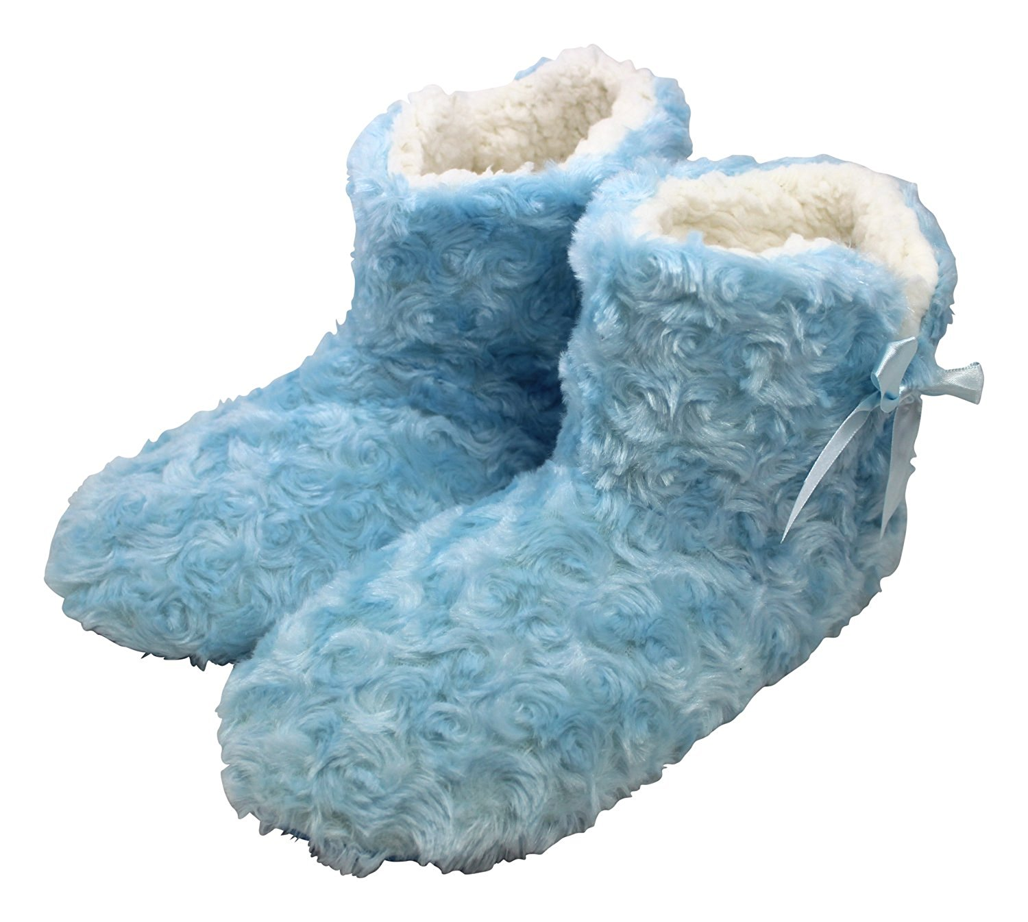 04d8dd359030d Get Quotations · Enimay Women's Slipper Boots Lounge House Relaxed Shoes  Fuzzy Fluffy Soft