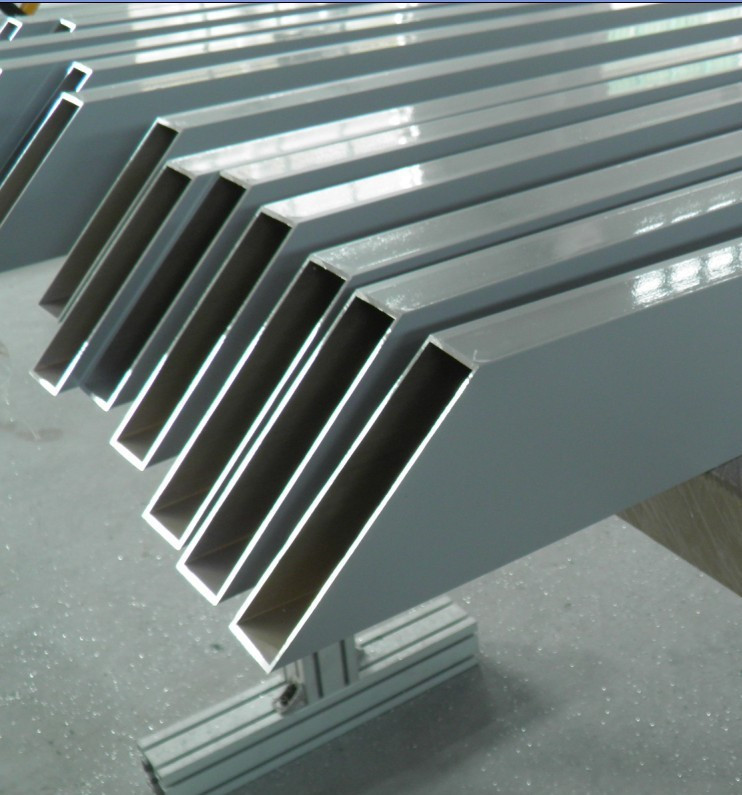 Aluminum Extrusion: Aluminum Extrusion Rectangular Tube