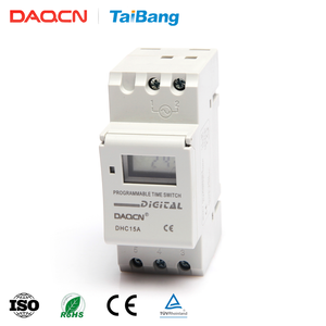 DAQCN DHC15A High Quality AC 220V 24 Hour Programable Timer Switches