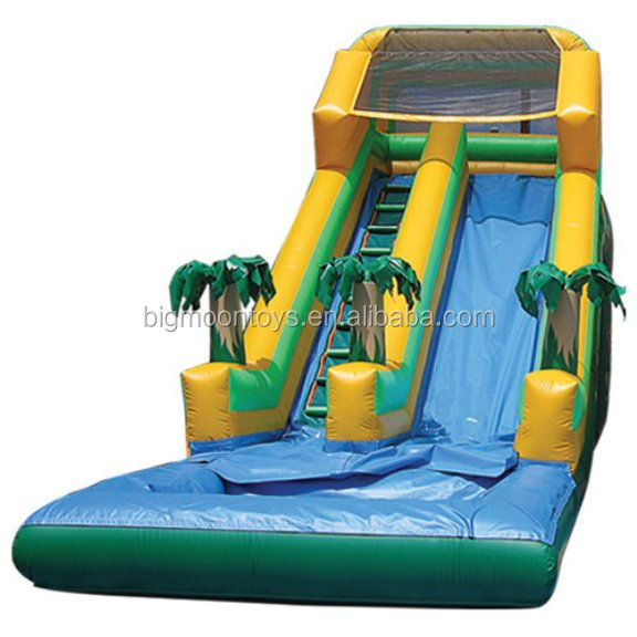 Big Commercial water slide giant inflatable water slide for adults and kids
