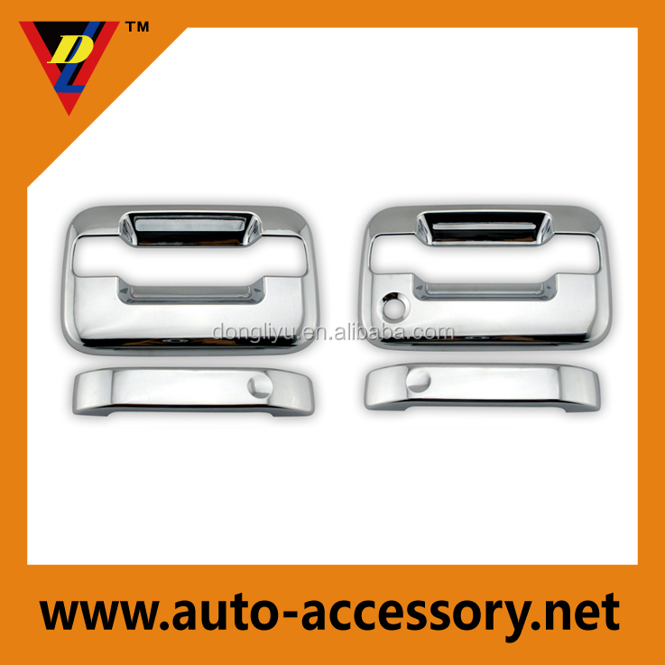 Chrome door handle cover for OEM ford truck parts and accessories