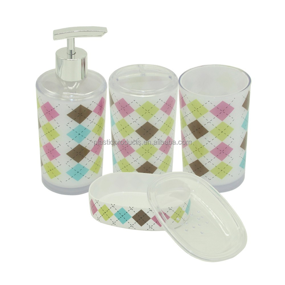 Essential True Colors Bath Accessories Collection