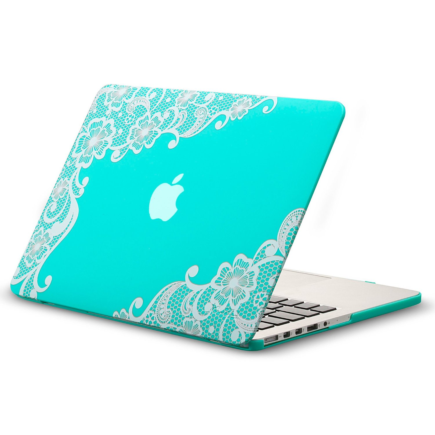 reputable site 94b43 0805c Buy Kuzy - Lace Rubberized Hard Case for Older MacBook Pro 15.4 ...