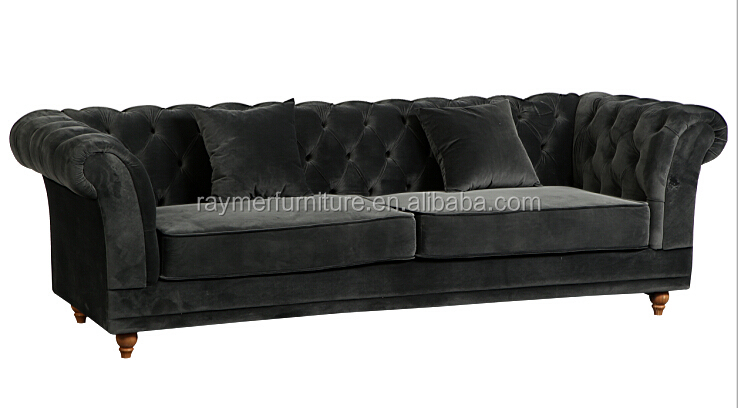 Black Japanese And Reliable Velvet Chesterfield Sofa With Colorful Buy Chesterfield Sofa