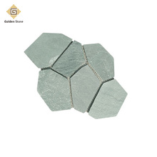 Beauty products green granite flagstone for driveway