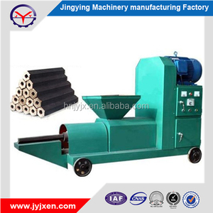 Compressed Wood Sawdust Coconut Shell Charcoal Briquette Moulding Machine for Sale with Factory Price
