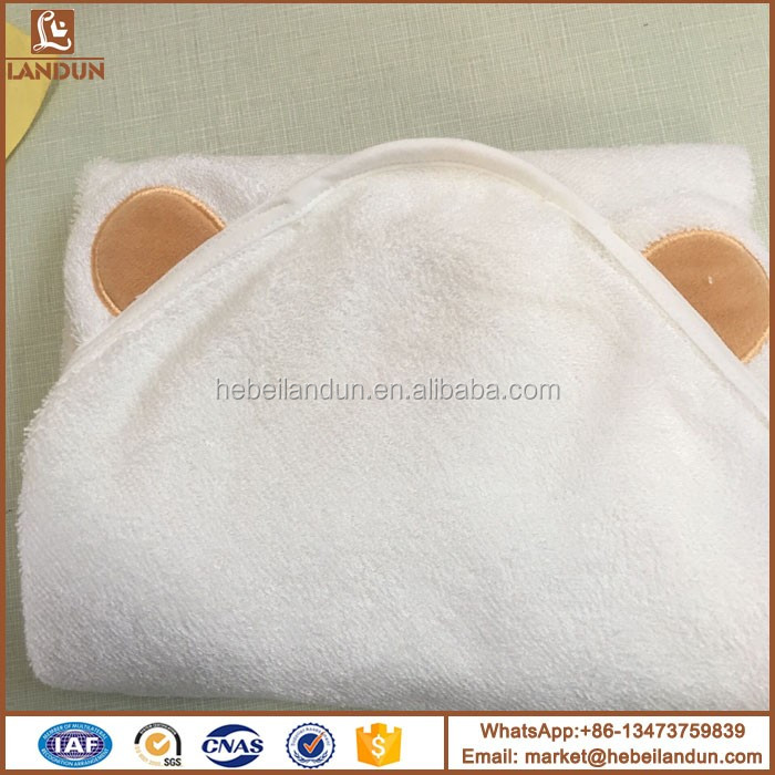 Cute Kids Cotton Terry Cloth Fabric Baby Towel With Hood Buy Cute
