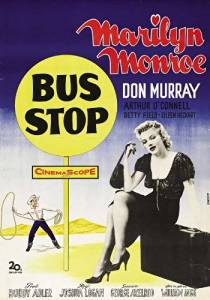 Unframed poster Bus Stop Movie C Marilyn Monroe Arthur O'Connell Hope Lange Don ...27x40inch(69x102cm)