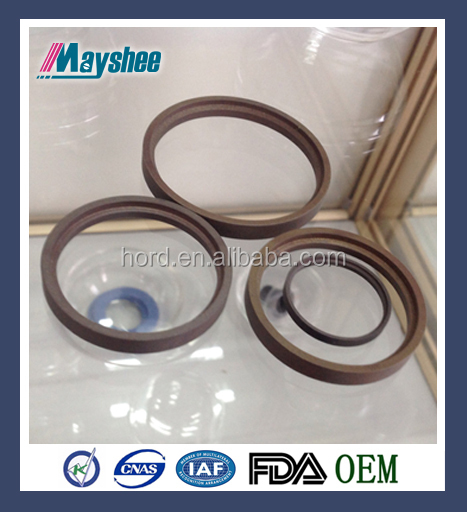 PTFE piston rod seals with NBR/ FKM O Ring