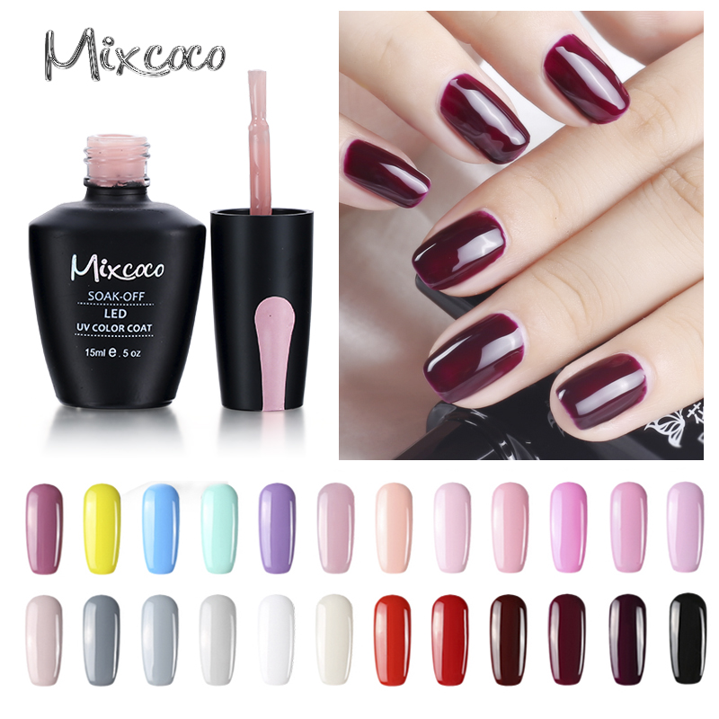 Mixcoco Uv Polish Gel Nail Salon Beauty Designs Professional Gel ...