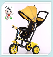 New and popular style baby bicycle 3wheelswith best quality4 in 1 tricycle for kids rotary seat with best price