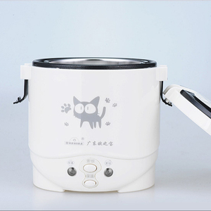 China supplier manufacturer multificational non stick cooking pot electric mini rice cooker 12v 24v 1L