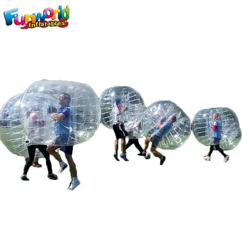 Transparent inflatable bumper ball Bump Soccer Balls