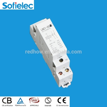factory make 1pole magnetic contactor 2 no 20a