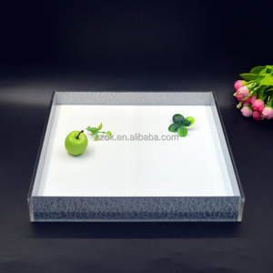 hot selling clear plastic tray acrylic trays