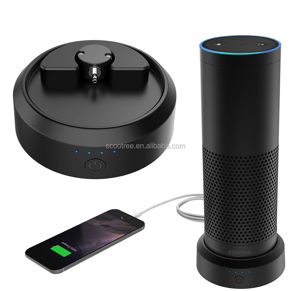 Smatree AE9000 Intelligent Portable Battery Base for Echo Amazon Speaker