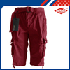 Fashion Branded Cotton Mens Cargo shorts with Belt
