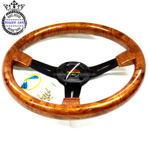 350MM 14 Inch Modified Used Car Wood Steering Wheel