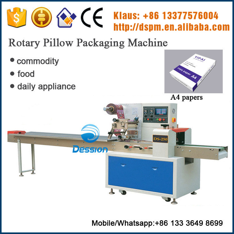 Automatic Printing materials A4 papers Packing Machine