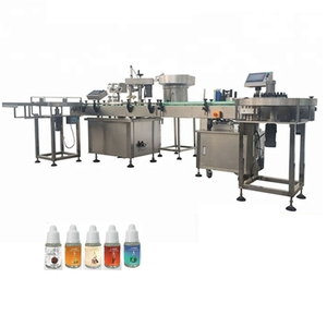 JB-YX4 eyedropper filler pet bottle e cigerate filling machine with CE certificate