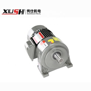 high quality China gear reducer with steel plate 3-phase brake motor