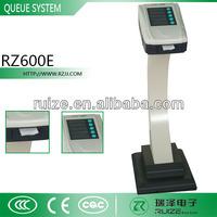 One Button Ticket Dispenser Machine Wireless Queue Management ...