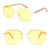 hot selling yellow night driving glasses night vision sunglasses
