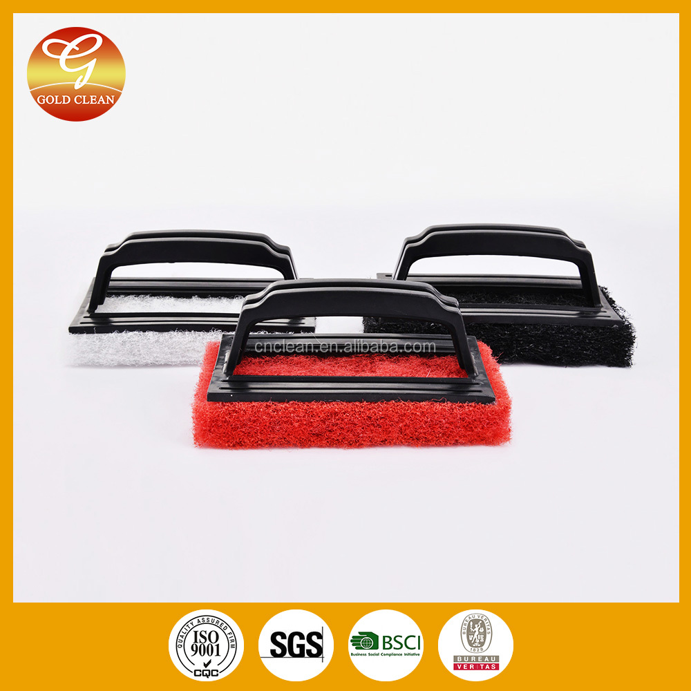 new product kitchen cleaning sponge,kitchen sponge scourer pad with handle,kitchen cleaning pads