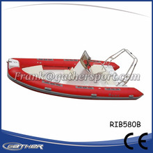 Gather Alibaba suppliers excellent material inflatable rubber motor boat