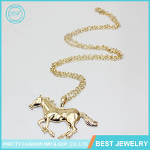 European And American Exports Decorative Pony Alloy Long Sweater Chain Necklace Female Korean Wild With Jewelry Wholesale