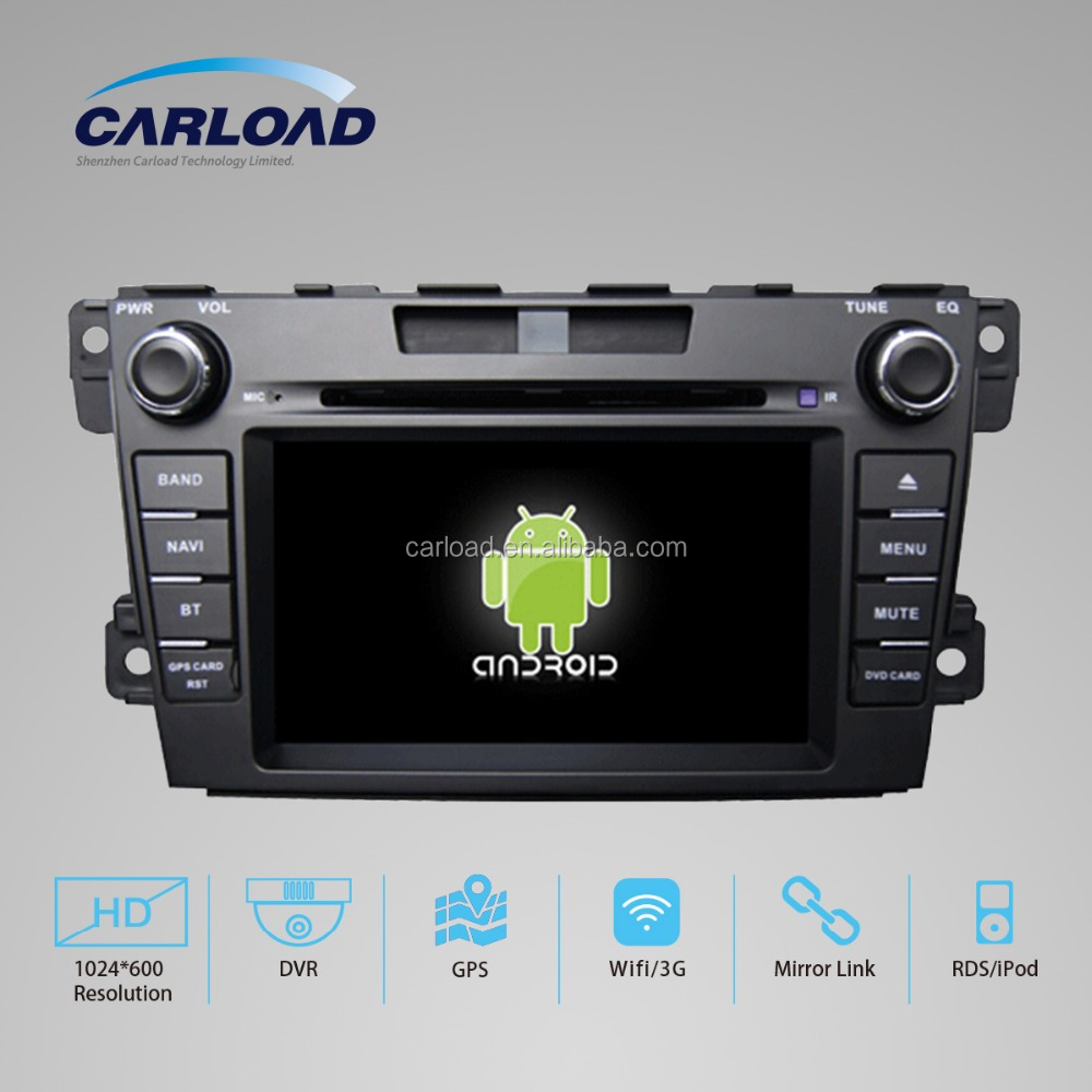 Android car dvd USB GPS INTERFACE FOR MAZDA CX-7 with iPhone ready