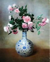 Popular Flower Pot Still Life Oil Painting