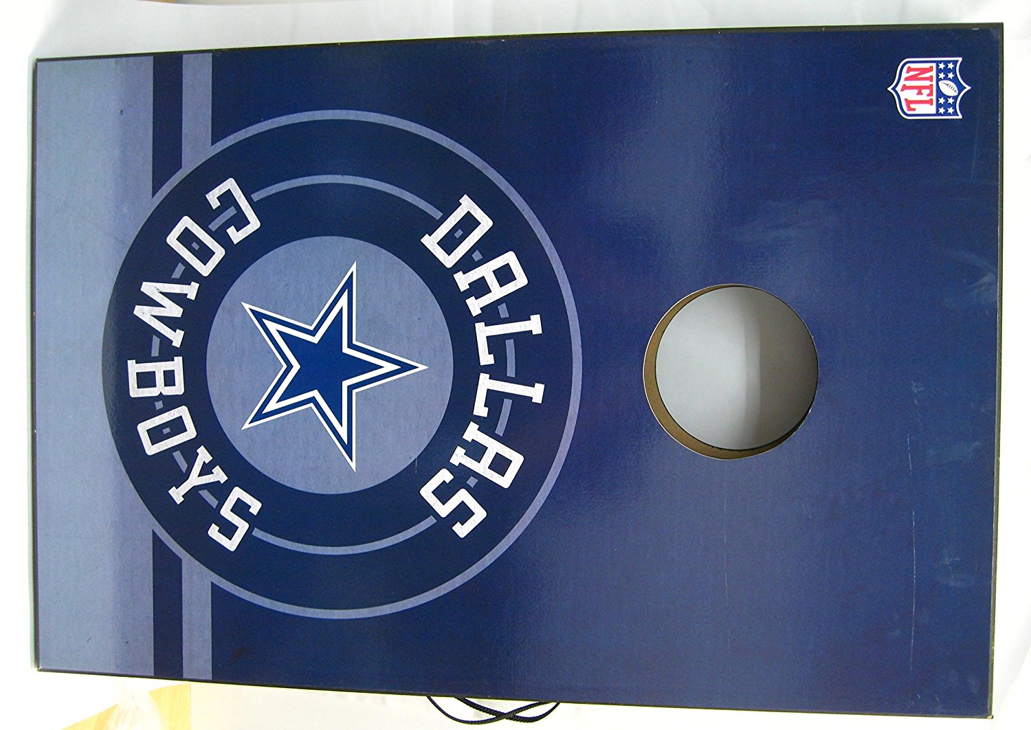 Dallas Cowboys Bean Bag Toss Set Tailgate Board With Bags
