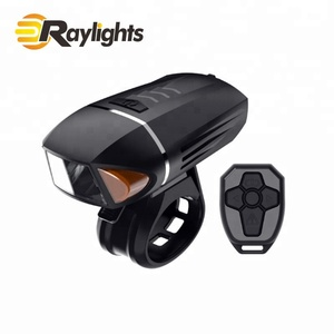 Intelligent remote control German anti-glare mountain bike outdoor night riding USB charging bicycle lights with horn