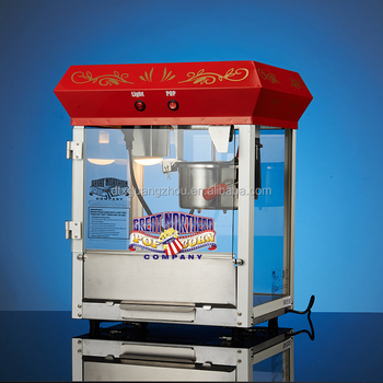 4ounce Commercial Foundation Red Top Popcorn Vending Machine 6112